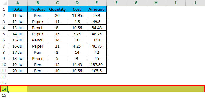 Insert multiple rows example 2 - 8