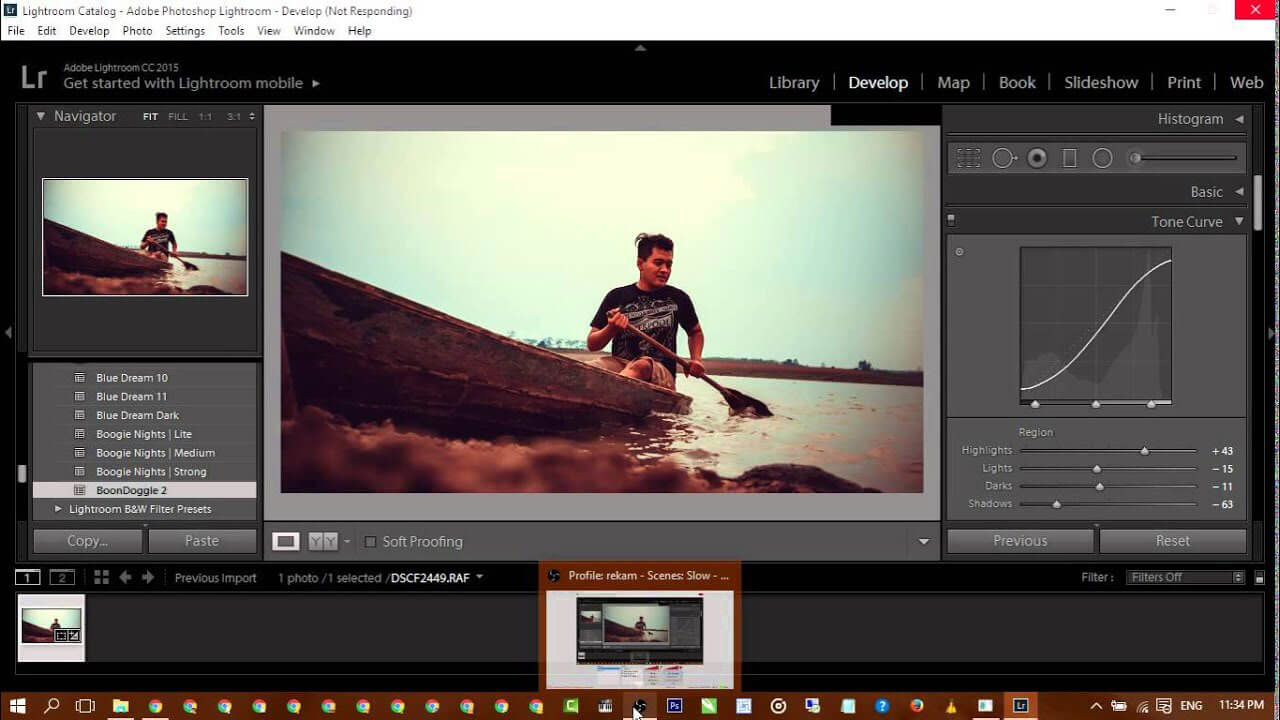 Learning Adobe lightroom