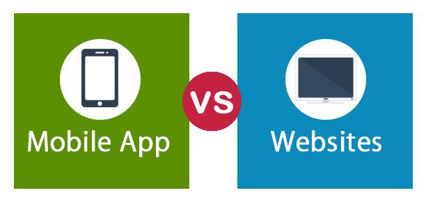 Mobile App vs Websites