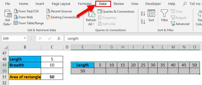 One Variable Data Table in Excel | Step by Step Tutorials