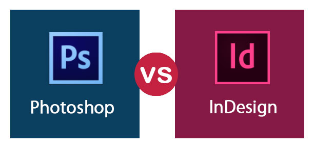 Photoshop vs InDesign
