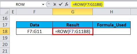 ROW Formula Error 1-1