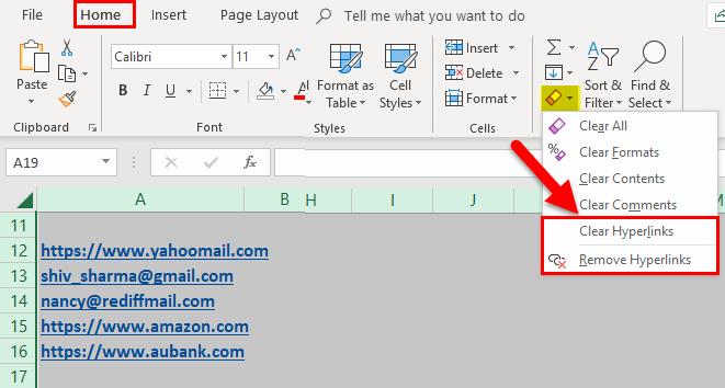 Remove Hyperlinks Example 2-3