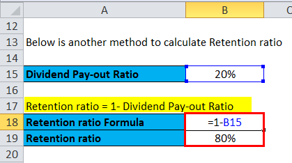Retention Ratio Example 1-3