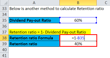 Retention Ratio Example 2-3