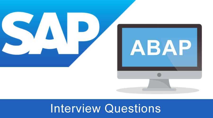 SAP ABAP Interview-Questions