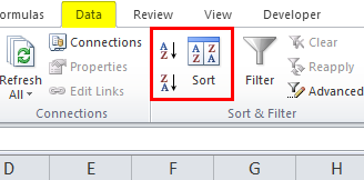 Sort Excel by Date