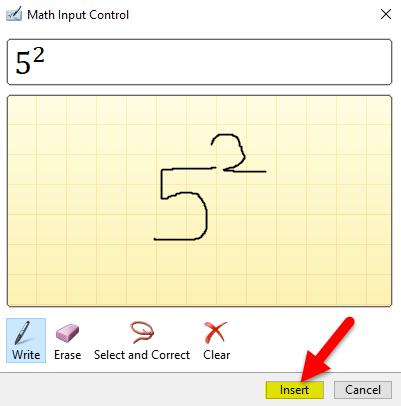 Superscript Example 3-1