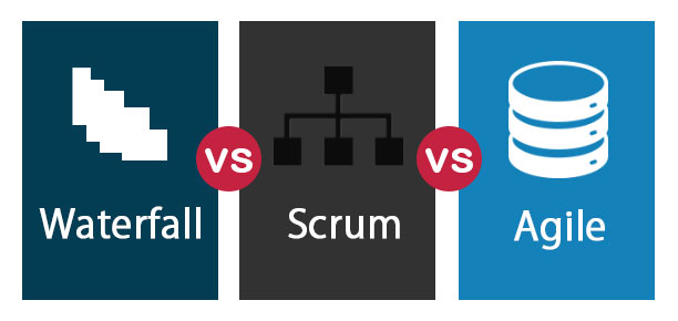 Waterfall-vs-Scrum-vs-Agile