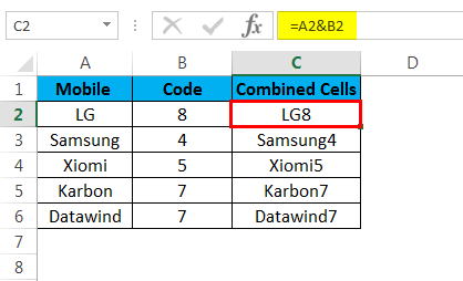 combine cells example 1.2