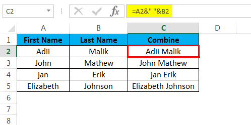 combine cells example 1.4