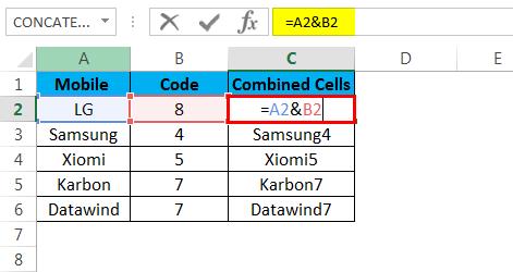 combine cells example 1.1