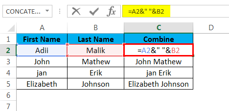 combine cells example 1.3