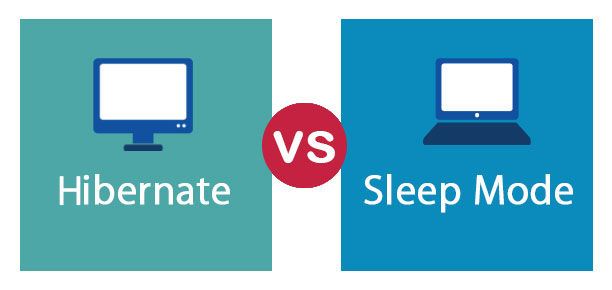 hibernate vs sleep mode