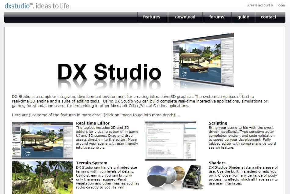DX Studio - 3D Software Design
