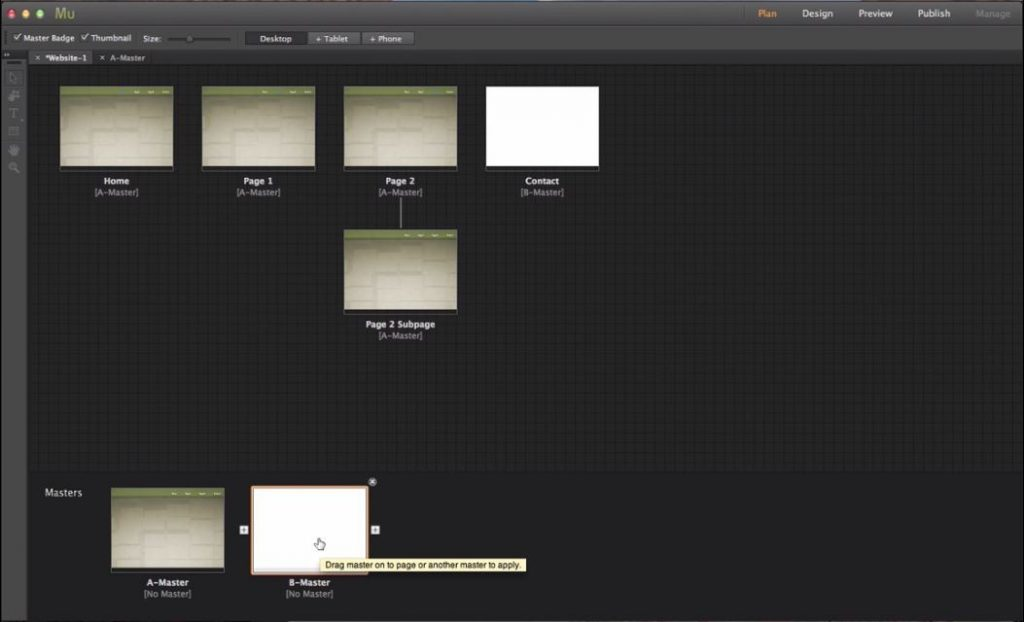 Adobe Muse tools 13