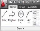 C – C to draw a circle