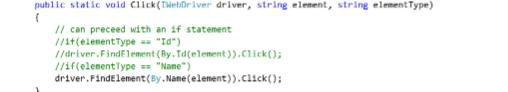Click Command