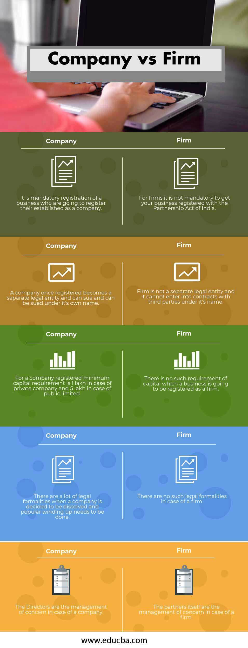 Company vs Firm info