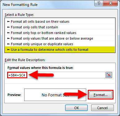 Set Formula example 2.6
