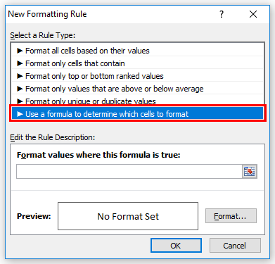 Conditional Formatting Example 2-3
