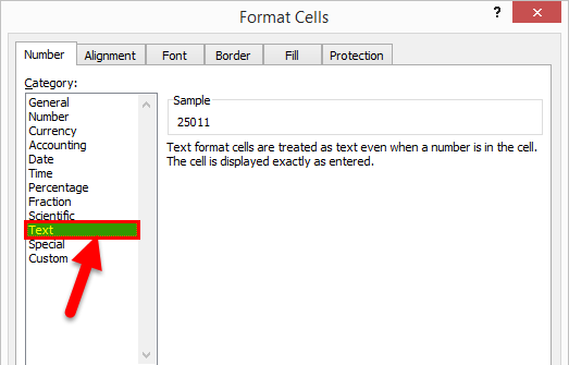 Converting Numbers to Text in Excel 2-9