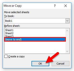 Copy Excel Sheet Method 1-2