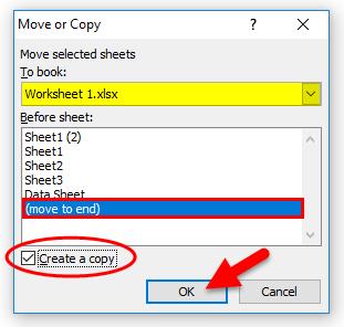 Create a Copy