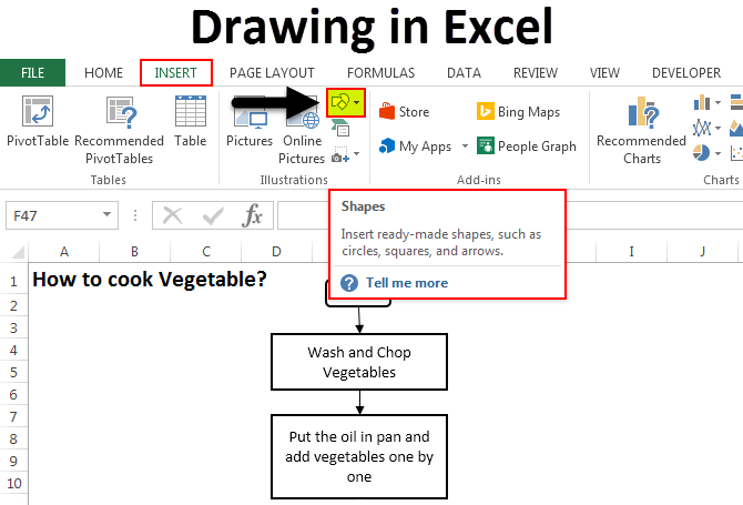 Drawing-in-excel-example-feature-image Table Of Contents Formatting Examples on study approach, for nutrition programs, for reports, what is, sales brag book, fiction book, microsoft word, professional portfolio,