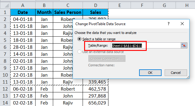 Dynamic Tables in Excel ( Using Pivot Table and Formulas)