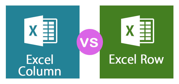 Excel Column vs Excel Row