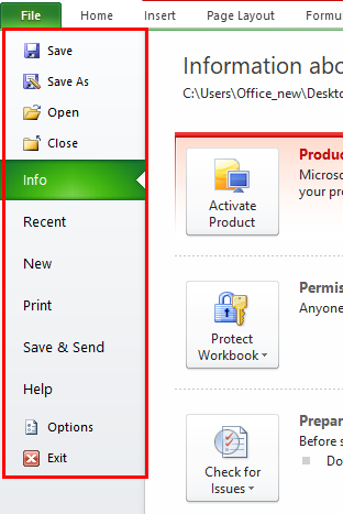 Excel Extensions Step 1-2