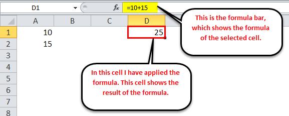 Excel Formula Example 1-2