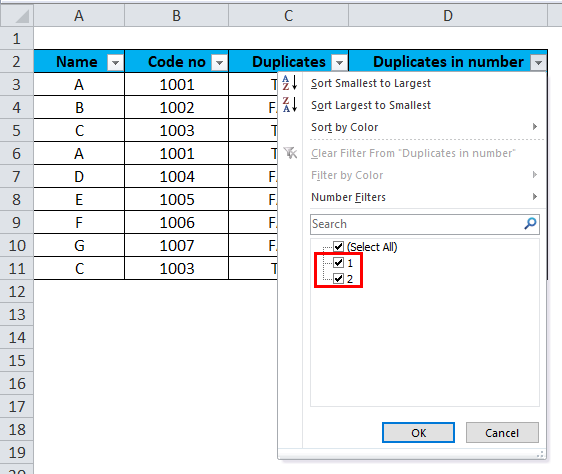 Excel Remove Duplicates Example 4-3-5