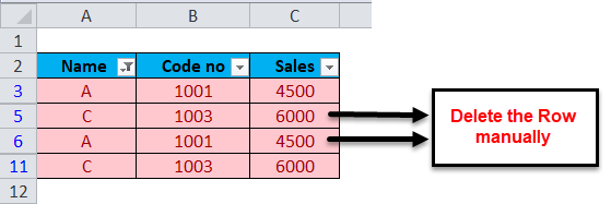 Excel Remove Duplicates Step 2-4