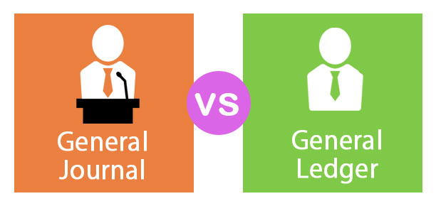 General Journal vs General Ledger