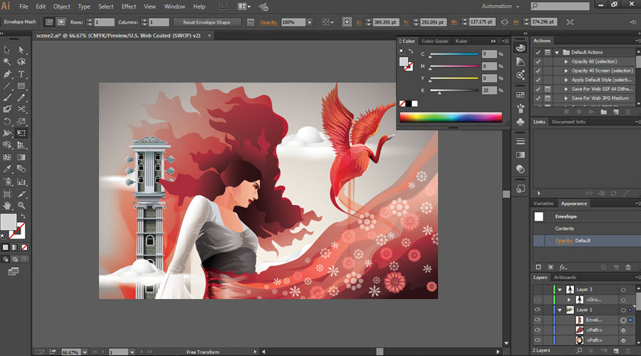 How to Use Adobe Illustrator - Scribble Effects