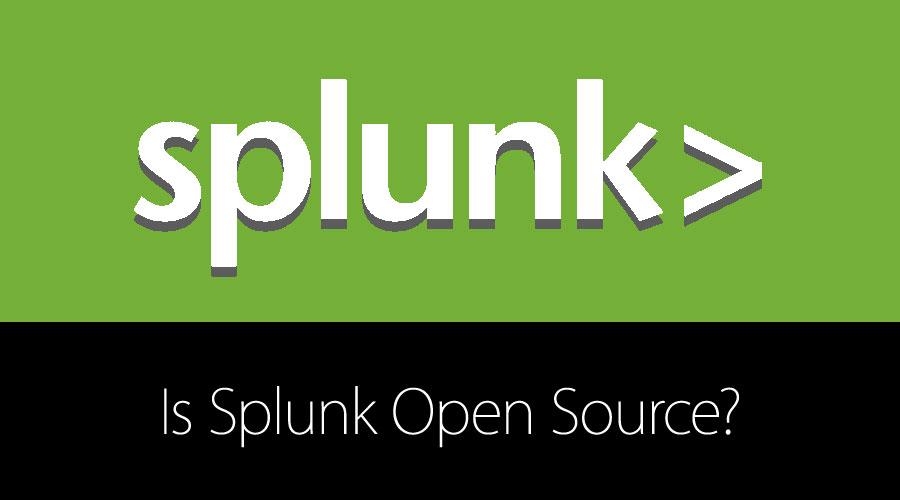 Is Splunk Open Source