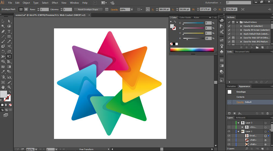 How to Use Adobe Illustrator - Learning Shape