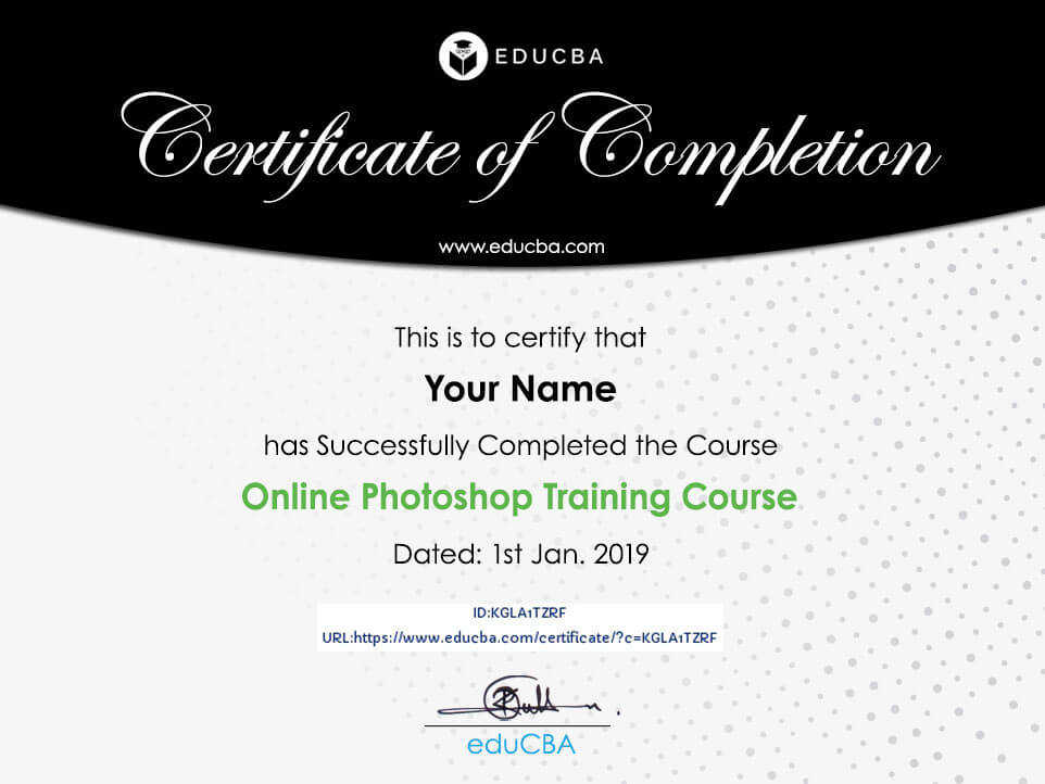 Online Photoshop Training Course