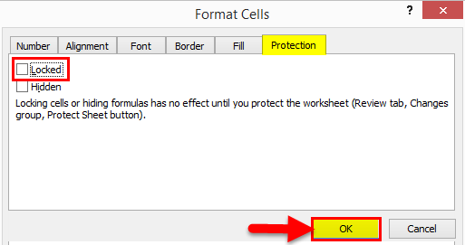 Protect Sheet Excel 1-4