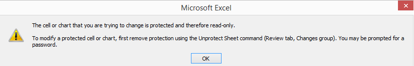 Protect Sheet Excel 2-5