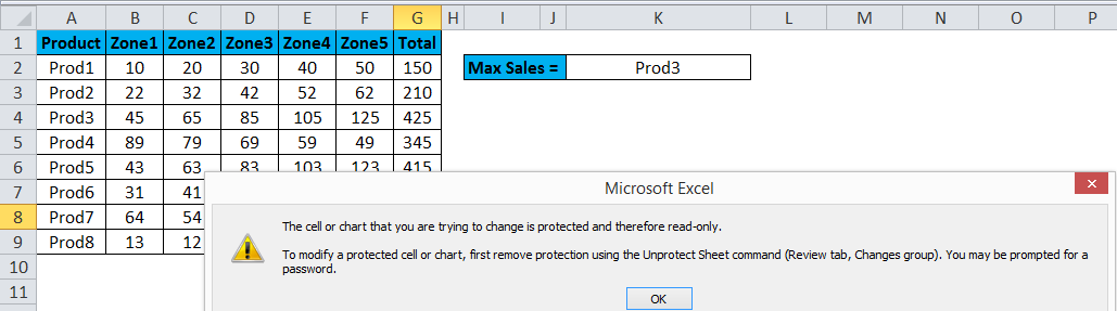 Protect Sheet Excel 3-5