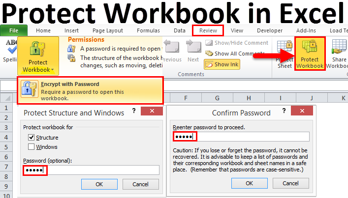 how to protected excel file