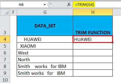 Remove Spaces Example 2-5
