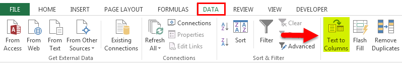 Separate text in Excel 3