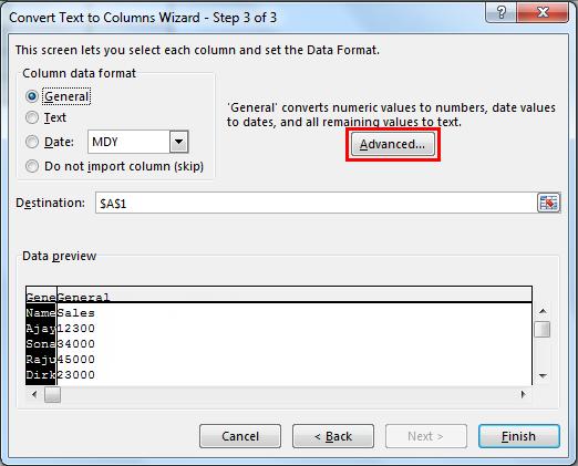 Advanced option example 2.8.1