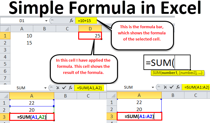 Simple Formula in Excel