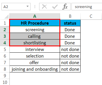 Strikethrough in Excel 3.1