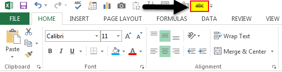 Strikethrough in Excel 5.3
